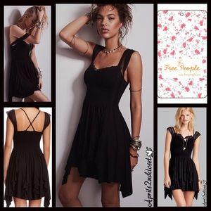 NWT Free People Miss Mini Lace Dress Sz. Small